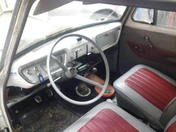 Pre Escort 1961 Ford Anglia Rusty But Trusty