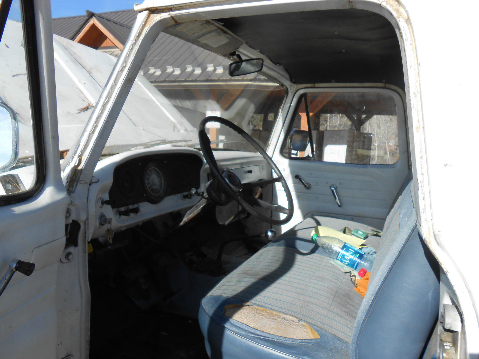 Not A Car 1964 Ford F250 44 Rusty But Trusty Camper Special 4x4 Interior