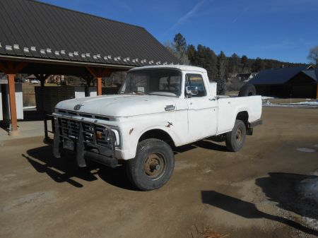 1964 Ford F250 4x4 left front