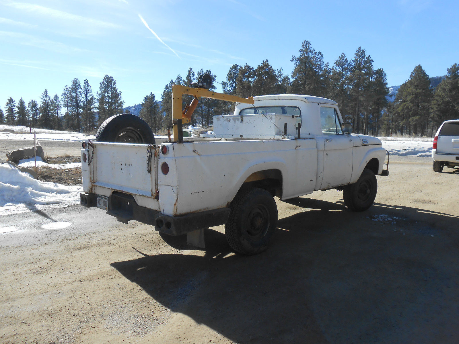 not a car 1964 ford f250 44 rusty but trusty