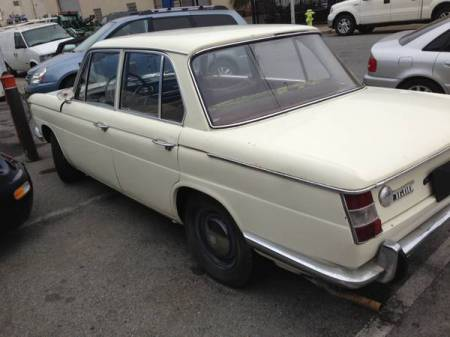 1966 BMW 1600 left rear
