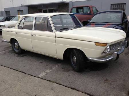 1966 BMW 1600 right front