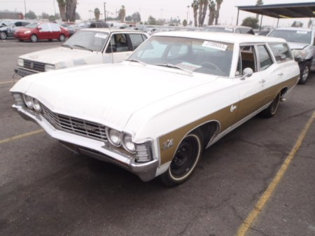 1967 Chevrolet Caprice wagon for sale