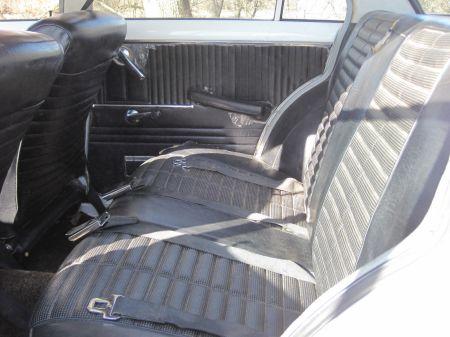 1968 Toyota Corona interior back