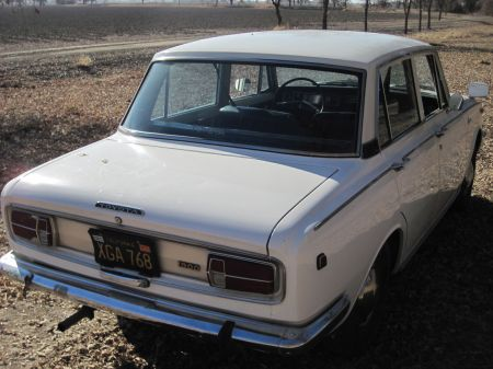 1968 Toyota Corona right rear