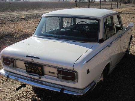 1968 Toyota Corona right rear