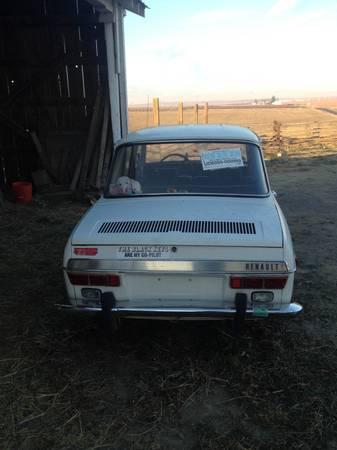 1970 Renault 10 rear