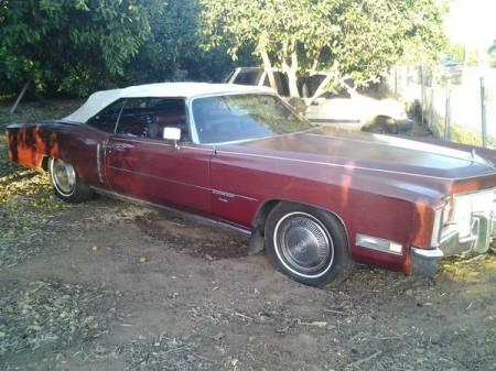 1971 Cadillac Eldorado Convertible for sale right front
