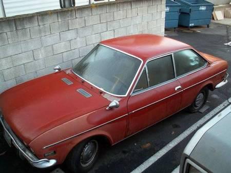 1972 Fiat 124 Coupe left front