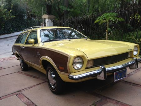 1973 Ford Pinto wagon right front