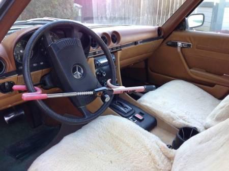 1974 Mercedes 450SL interior