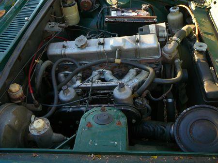 1975 Triumph 2000TC engine