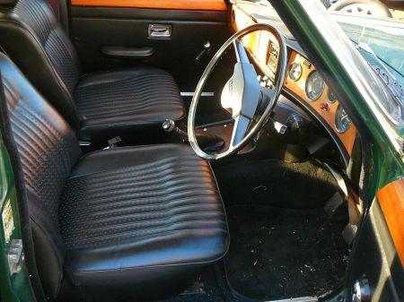 1975 Triumph 2000TC interior