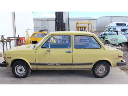 1976 Fiat 128 left side