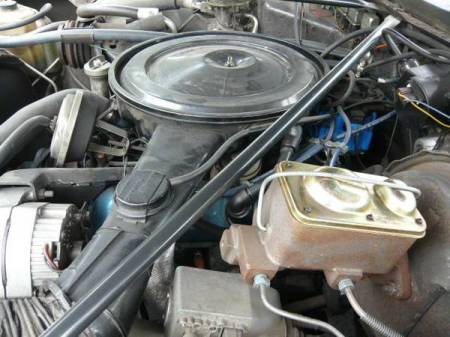 1976 Oldsmobile Cutlass engine