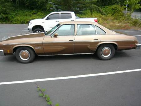 1976 Oldsmobile Cutlass left side