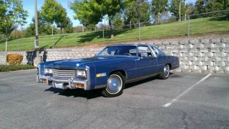 1978 Cadillac Eldorado for sale left front