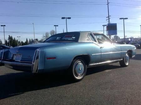 1978 Cadillac Eldorado right rear