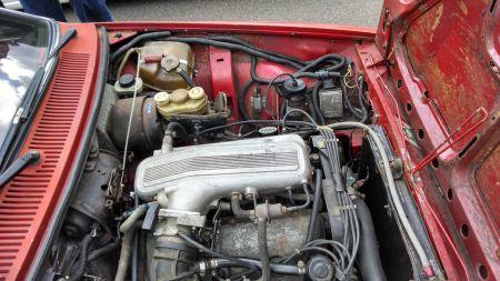 1979 Alfa Romeo Alfetta GT V6 engine
