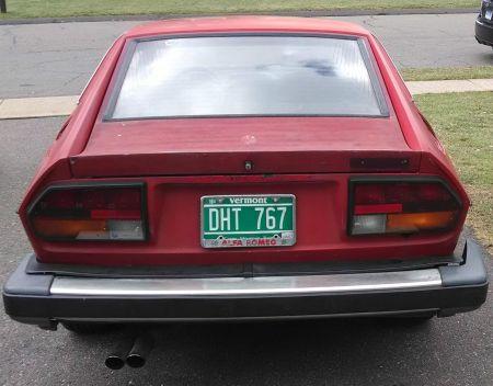 1979 Alfa Romeo Alfetta GT V6 rear