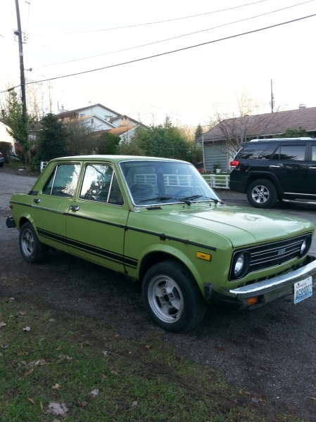 1979 Fiat 128 right front
