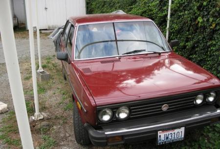 1979 Fiat Brava right front