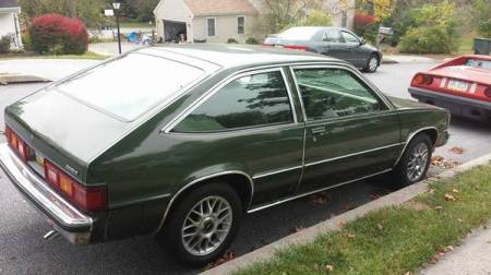 1980 Chevrolet Citation right rear