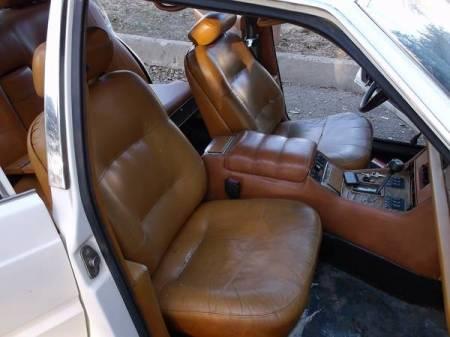 1980 Maserati Quattroporte interior