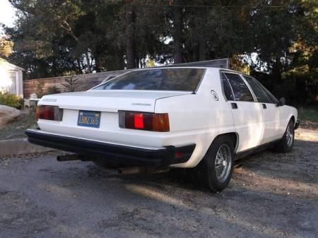 1980 Maserati Quattroporte right rear