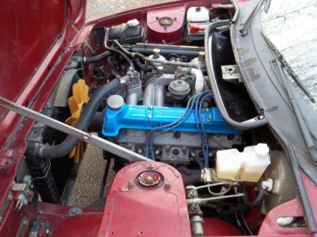 1980 Triumph TR7 engine