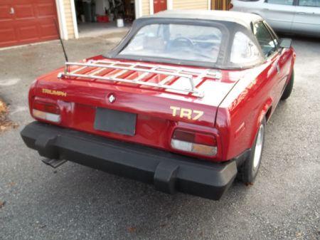 1980 Triumph TR7 right rear