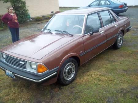 1982 Mazda 626 for sale left front