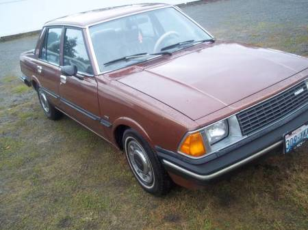 1982 Mazda 626 for sale right front