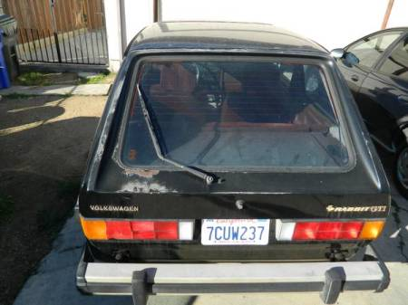 1983 VW Rabbit GTI hatch