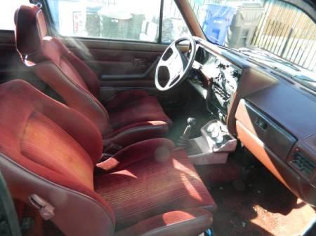 1983 VW Rabbit GTI interior