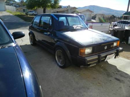 1983 VW Rabbit GTI right front
