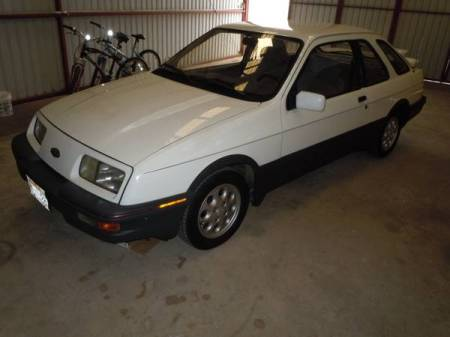 1985 Merkur XR4Ti left front