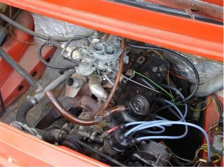 1986 Skoda 120GLS engine
