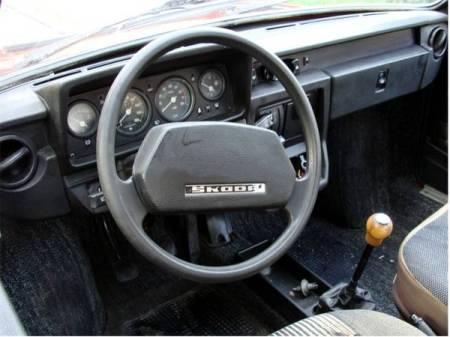 1986 Skoda 120GLS interior