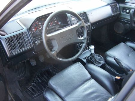1987 Audi 5000CS quattro interior