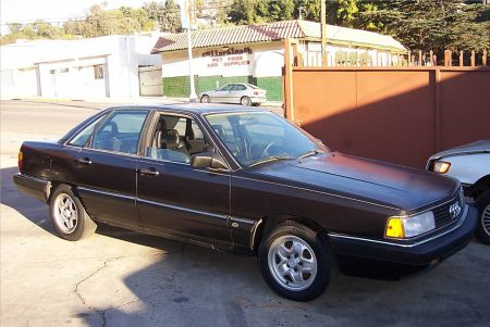 1987 Audi 5000CS quattro right front