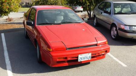 1988 Nissan Pulsar right front