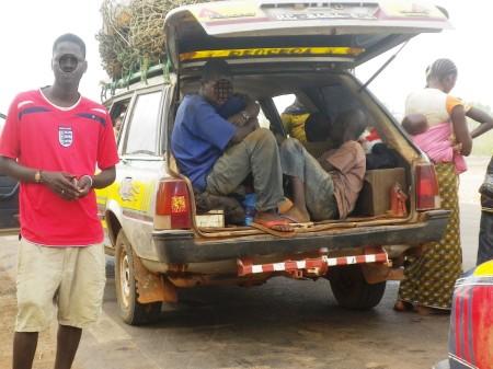 Peugeot 505 Break en Guinee