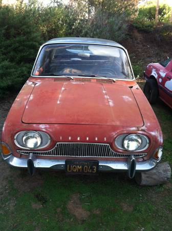 1962 Ford Taunus 17M front