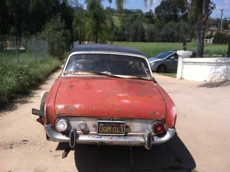 1962 Ford Taunus 17M rear