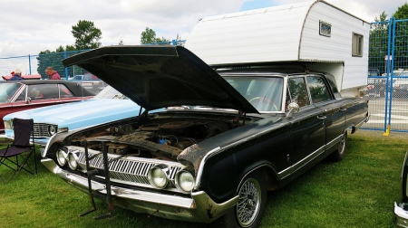 1964 Mercury Park Lane camper left front