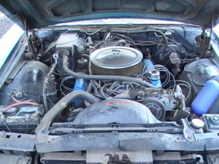 1969 Ford Galaxie LTD XL convertible engine