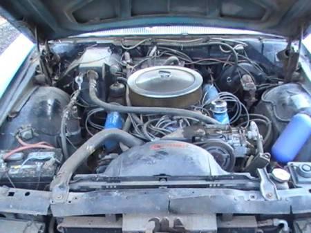 1969 Ford Galaxie LTD XL convertible engine