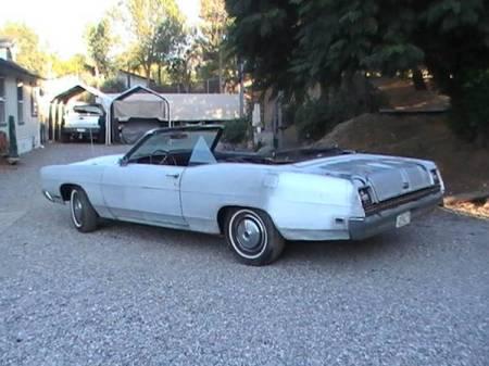 1969 Ford Galaxie LTD XL convertible left rear