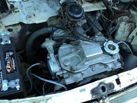 1970 Honda N600 engine